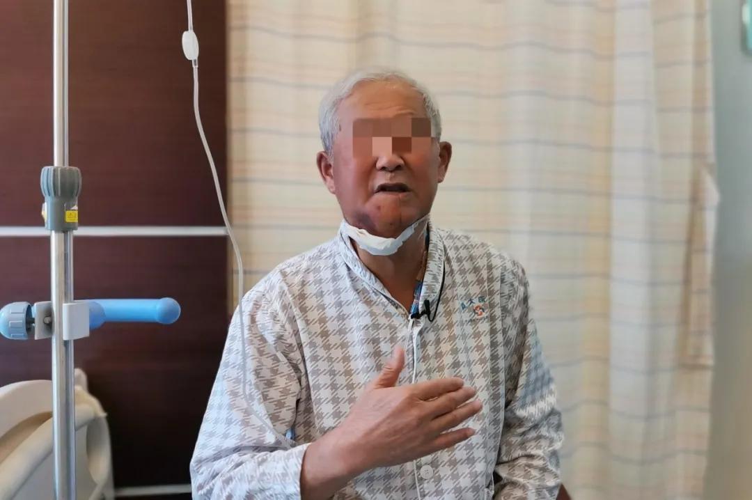 七旬老人舌癌复发伴双肺转移,在这里重拾生活信心